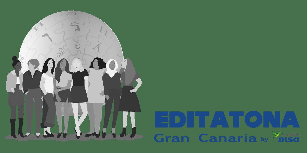 Logo de la Editatona Gran Canaria